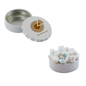 Promotional Mints & Mint Tins-SST15W-SUG-GUM