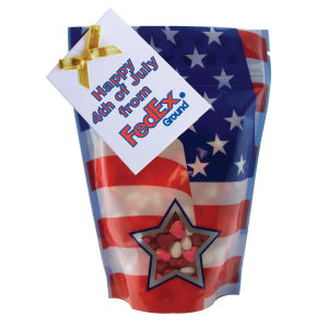 Large patriotic window bag