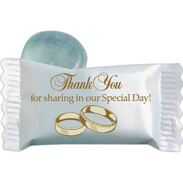 Wrapped Clear Mint candy