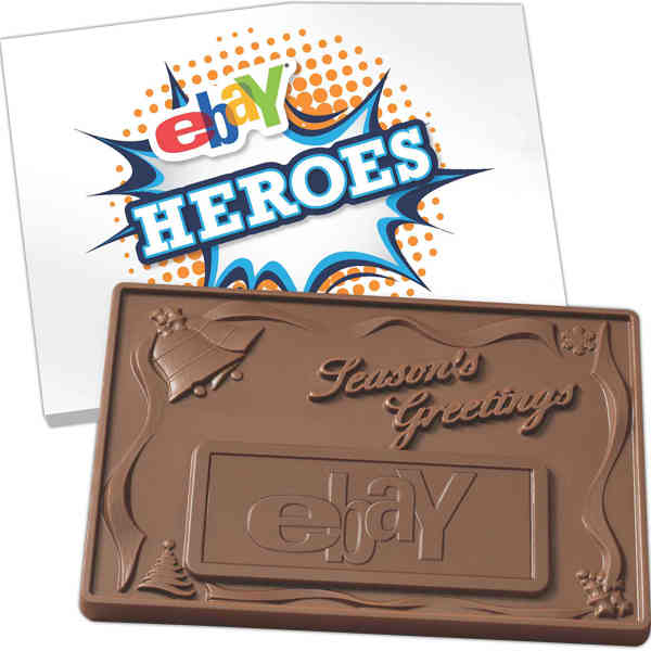 3D chocolate bar with