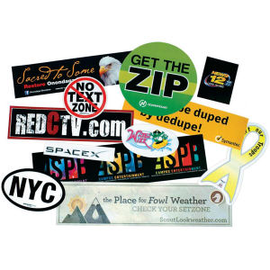 Promotional Bumper Stickers-