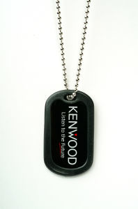 Aluminum dog tag, 1.2mm