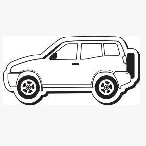 Promotional Magnetic Memo Holders-Car14
