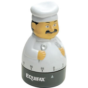 Gourmet chef shaped 60