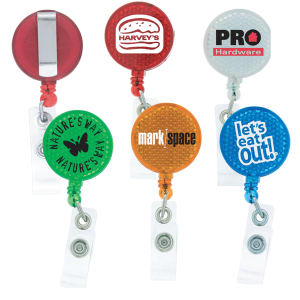 Promotional Retractable Badge Holders-L-308