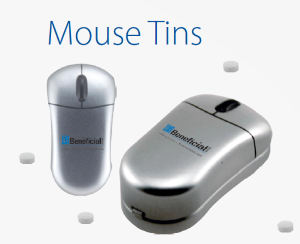 Promotional -MOUSE-TIN-BUL