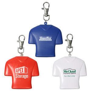 Jersey style key chain