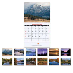 Promotional Wall Calendars-MW111S