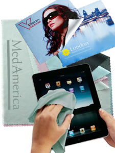 Promotional Cleaners & Tissues-IPAD CLOTH i21