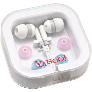 Universal stereo earphones. Interchangeable