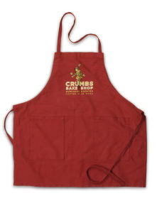natural canvas bib apron