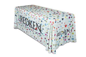 8' Drape Tablecloth with