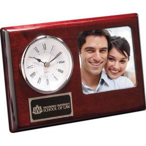 UNIMPRINTED - Madera Clock