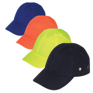 Baseball bump cap with