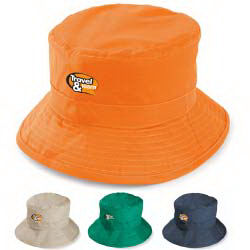Wide brim hat, water-resistant