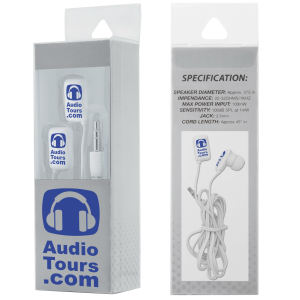 Earbuds in clear presentation