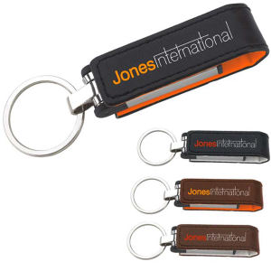 Promotional Leather Key Tags-31504