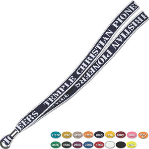 Direct screen print lanyard