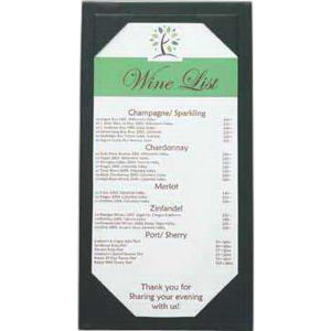 Promotional Menu/Menu Covers-WineList