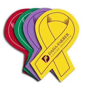 Awareness ribbon shaped jar