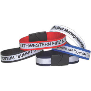 Reflective wristband helps the