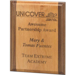 Promotional Plaques-Wood 54