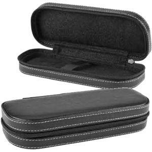 Black zippered gift box