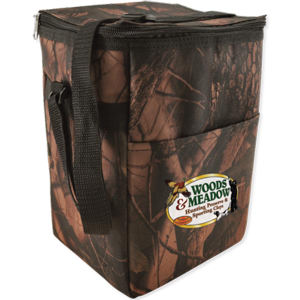Promotional Cooler, Bottle,Lunch, Wine Bags-12PKCAMO