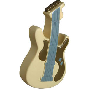 Electric guitar shape stress