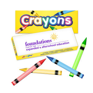 Four pack crayon box.