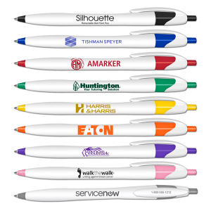 Promotional Ballpoint Pens-0319-BLACK-INK