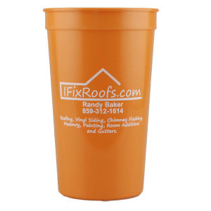 Promotional Stadium Cups-T-ST22- Orange