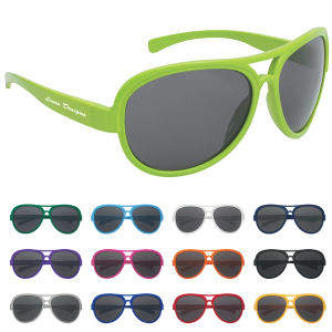 Recycled Ecofriendly imprinted promotional Sunglasses