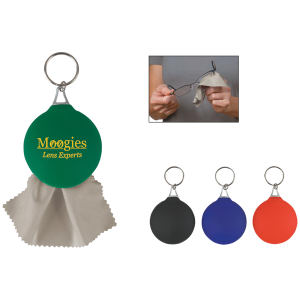 Rubber key chain with