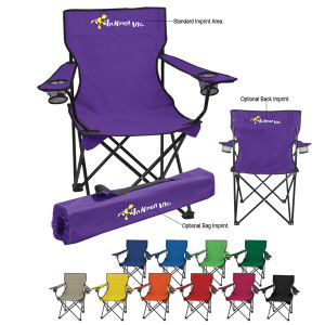 Folding chair with carrying