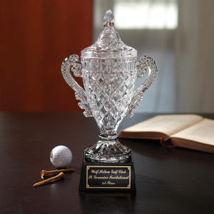 Worthington - Crystal trophy.
