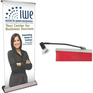 Deluxe Retractor Banner Display