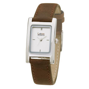 Watch with rectangular and
