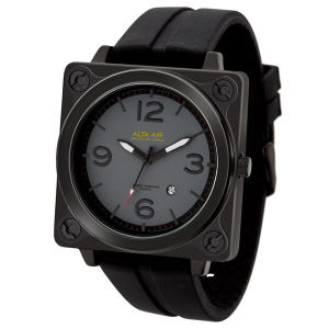 Aviator style unisex watch