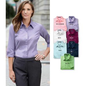Promotional Button Down Shirts-DP625W
