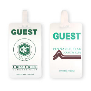 Promotional Golf Bag Tags-BL-1155