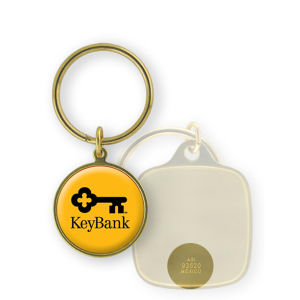 Promotional Metal Keychains-BL-1418