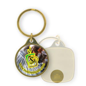 Promotional Metal Keychains-BL-1426