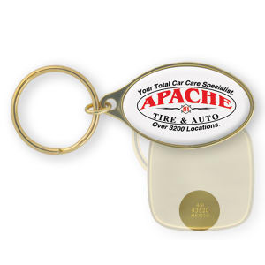 Promotional Metal Keychains-BL-1427