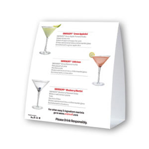 Customized Promo Table Tents