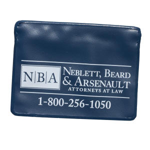 Promotional Vinyl ID Pouch/Holders-525NA