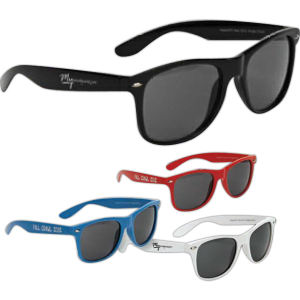 Deluxe sunglasses. Smooth, shiny