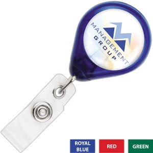 Promotional Retractable Badge Holders-609-TR