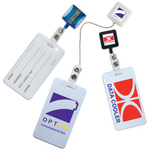 Promotional Retractable Badge Holders-PL-8931