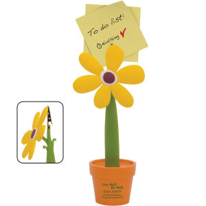 Flower Note Holder: Recycled